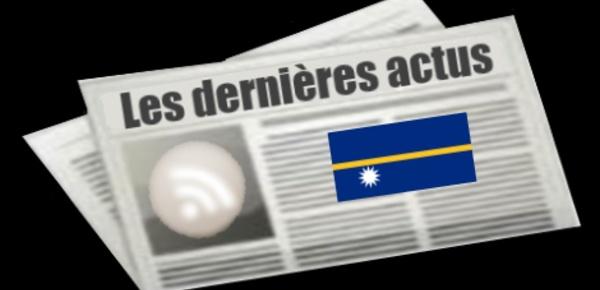 Les dernières actus de Nauru