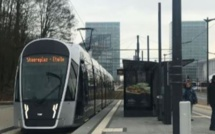 Le nouveau tram de la capitale luxembourgeoise Photo (C) Diana YT
