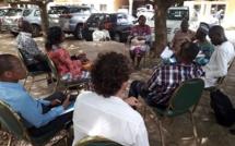 Vue partielle des participants au cours des travaux de groupe (c) DR