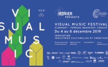 Affiche du Visual Music 2019 © Le Damier