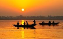 Couché de soleil sur le Gange, en Inde (c) Pixabay