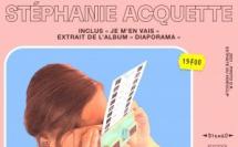 """Pochette du nouvel album """"Diaporama"""" de Stéphanie Acquette"""