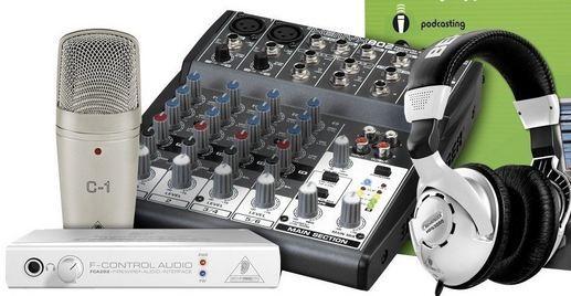 L'équipement pour créer des podcasts