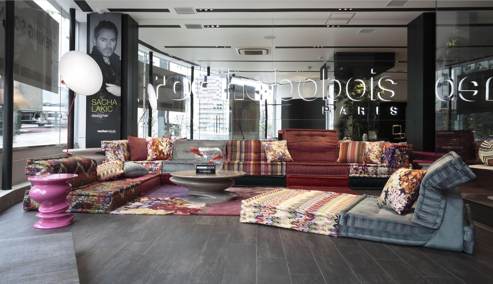 Bobois Le Design Fran Ais S Implante Au Japon # Canape Cinema Roche Bobois