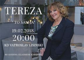 TEREZA Kesovija concert-événement