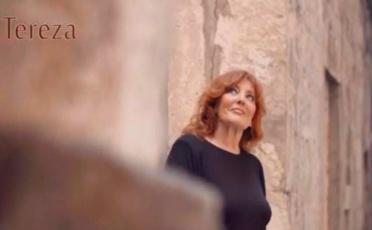 Tereza Kesovija et la première chanson de son prochain album